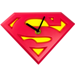 Superman Wobble Wall Clock Swinging Logo
