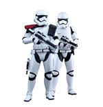 Star Wars Episode VII MMS Action Figure 2-Pack 1/6 First Order Stormtrooper & FOS Officer