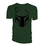 Star Wars T-Shirt Boba Fett Vector Helmet