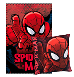 Marvel Comics Pillow & Fleece Blanket Set Spider-Man