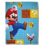Nintendo Fleece Blanket Super Mario Maker 100 x 150 cm