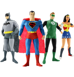 Justice League Bendable Figures 4-Pack 14 cm
