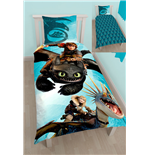 How to Train Your Dragon Duvet Set Reversible Duo 135 x 200 cm / 80 x 80 cm