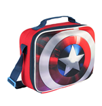 Marvel Comics Insulated Lunch Bag Captain America Shield