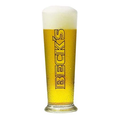 BECK'S Tumbler Beer Glass