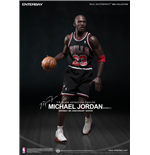NBA Collection Real Masterpiece Actionfigur 1/6 Michael Jordan (Black Jersey) 33 cm