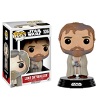 Star Wars Episode VII POP! Vinyl Bobble-Head Figure Luke Skywalker (Bearded) 9 cm