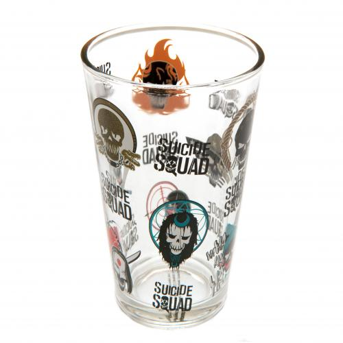 Suicide Squad Large Glass Faces