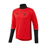 2016-2017 Benfica Adidas Training Top (Red)
