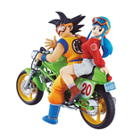 Dragonball Z 05 Desktop Real McCoy Vol. 1 PVC Diorama Son Goku & Chichi 15 cm
