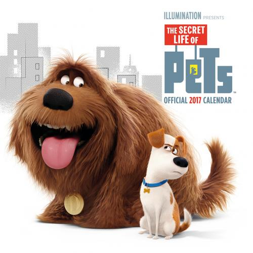 The Secret Life of Pets Calendar 2017