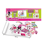 DISNEY Minnie Mouse My Colouring Meter with 100pc Creative Accessories Kit