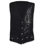 Shadow Master - Gothic Waistcoat Four Button with Lining