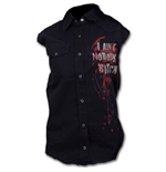 Daryl Wings - Walking Dead Ladies Sleeveless Worker Shirt