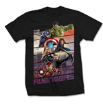 Marvel Comics T-Shirt The Avengers Bars