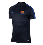 2016-2017 Barcelona Nike Training Shirt (Navy)