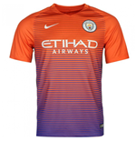 2016-2017 Man City Third Nike Football Shirt (Kids)
