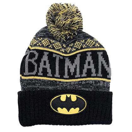 BATMAN Winter Pom Beanie
