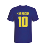 Diego Maradona Boca Juniors Hero T-shirt (navy)