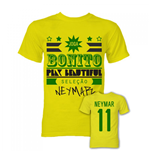 Neymar Joga Bonito T-Shirt (Yellow)