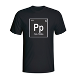 Paul Pogba Juventus Periodic Table T-shirt (black)