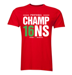 Portugal Euro Champions T-Shirt (Red)