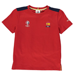 Spain UEFA Euro 2016 Core T-Shirt (Red) - Kids