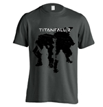 Titanfall 2 T-shirt Character Silhouettes
