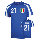 Italy Sports Training Jersey (pirlo 21)