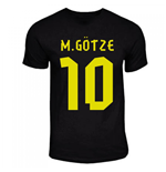 Mario Gotze Dortmund Away Hero T-shirt (black)