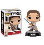Star Wars Episode VII POP! Vinyl Bobble-Head Figure Rey (Battle Pose) 9 cm