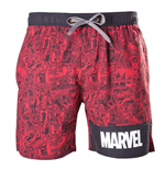 Marvel Superheroes Swimsuit - Logo