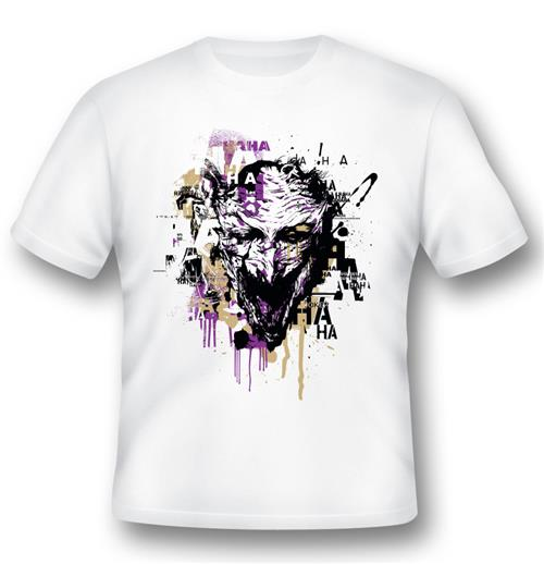 Batman T-shirt Joker Illustration