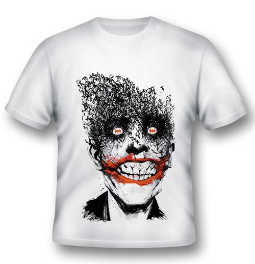Batman T-shirt Joker By Jock