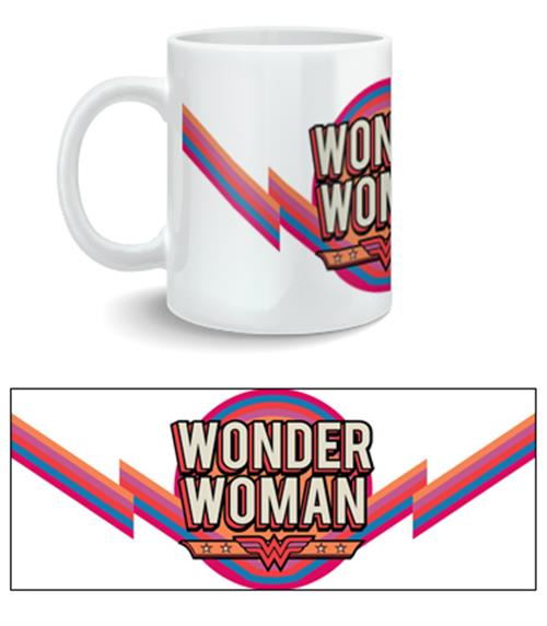Wonder Woman Mug Vintage Logo