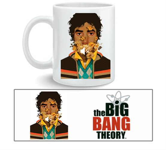 Big Bang Theory Mug Raj Nosound