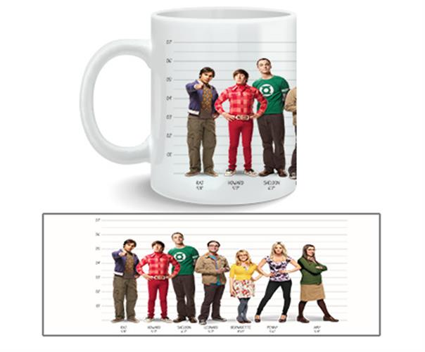 Big Bang Theory Mug Full Cast