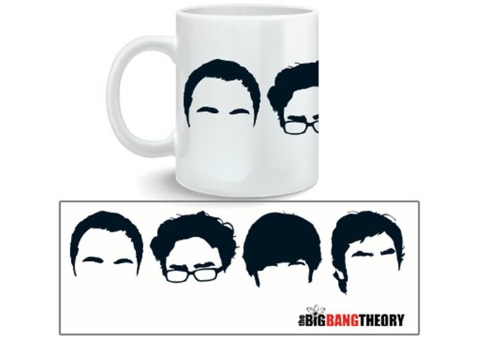Big Bang Theory Mug Faces