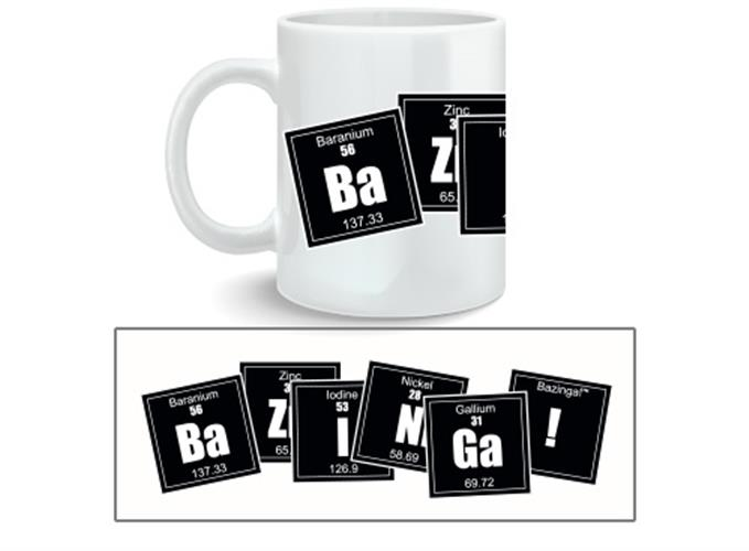 Big Bang Theory Mug Bazinga Formula