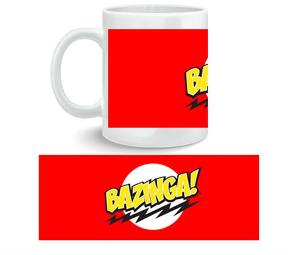 Big Bang Theory Mug Bazinga