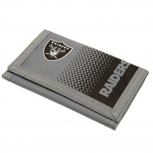 Oakland Raiders Nylon Wallet FD