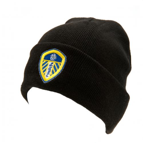 Leeds United F.C. Knitted Hat TU BK