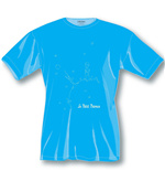 The Little Prince Ladies T-Shirt Blue Icon