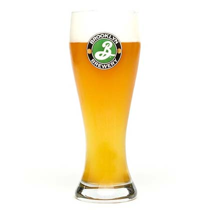 BROOKLYN BREWERY Weisse Glass
