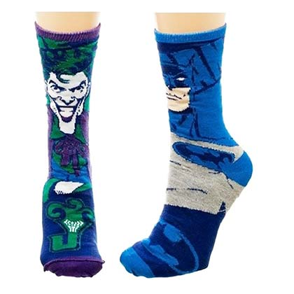 BATMAN Reversible Joker Socks