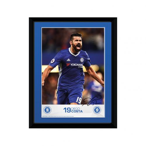 Chelsea F.C. Picture Diego Costa 8 x 6