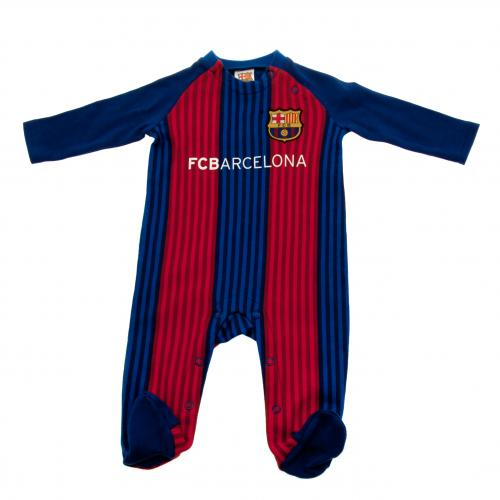 F.C. Barcelona Sleepsuit 6/9 mths VS