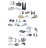 Star Wars Rogue One Micro Machines Vehicles Multi-Packs 2016 Wave 1 Assortment (12)