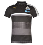 2016-2017 Newcastle Puma Leisure Polo Shirt (Black)