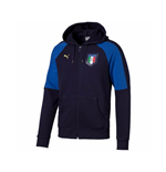 Italy 2006 Tribute Zip Through Hoody (Peacot-Blue) - Kids